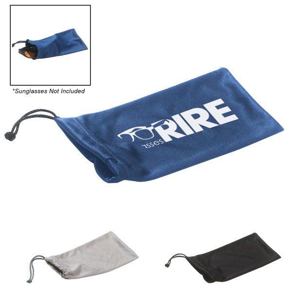 Custom Microfiber Pouch With Drawstring