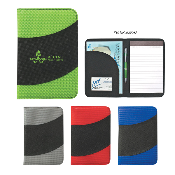 "Customized Non-Woven 5"" x 7"" Bubble Padfolio"