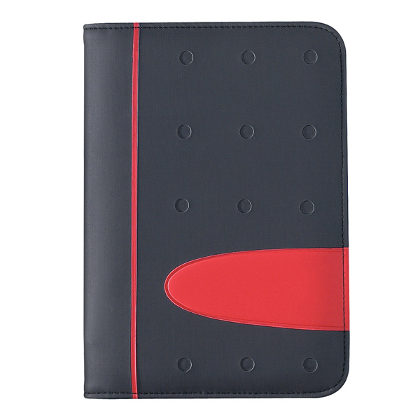 "Custom Eclipse 5"" x 7"" Zippered Portfolio With Calculator"