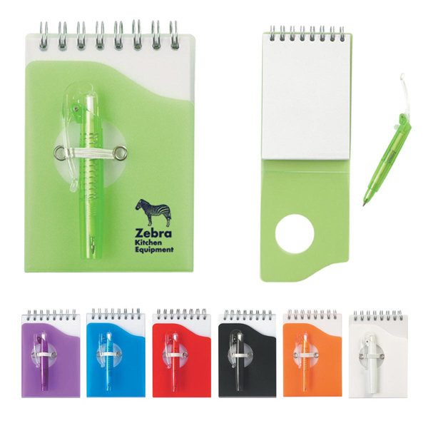 Printed Mini Jotter Pad With Shorty Pen