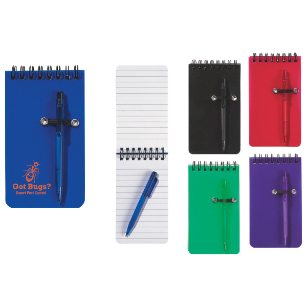 Customized Spiral Jotter & Pen