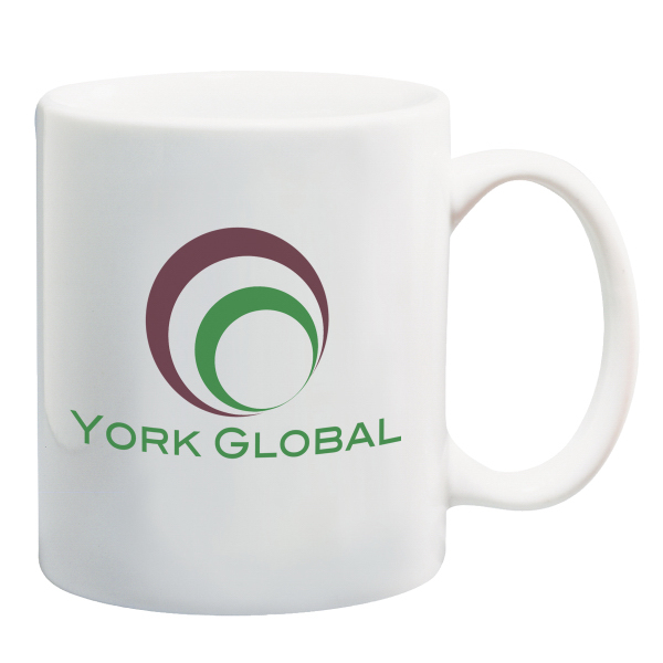 Promotional 11 oz. White Ceramic Mug