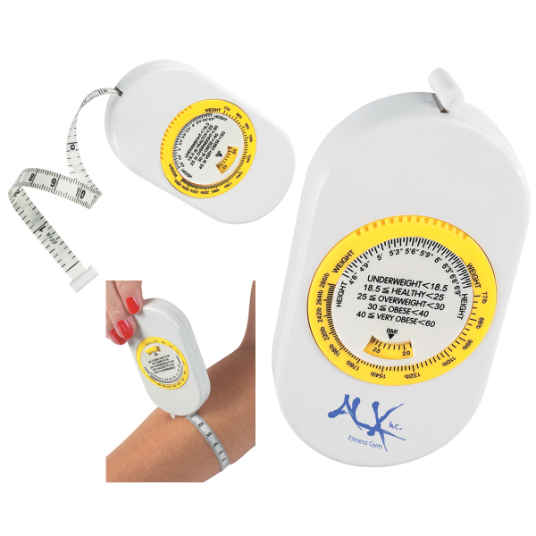 Customized Body Tape Measure With BMI Scale