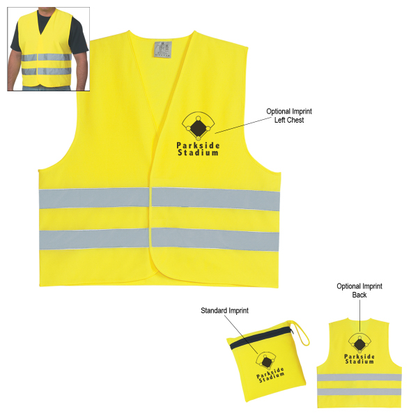 Imprinted Reflective Vest