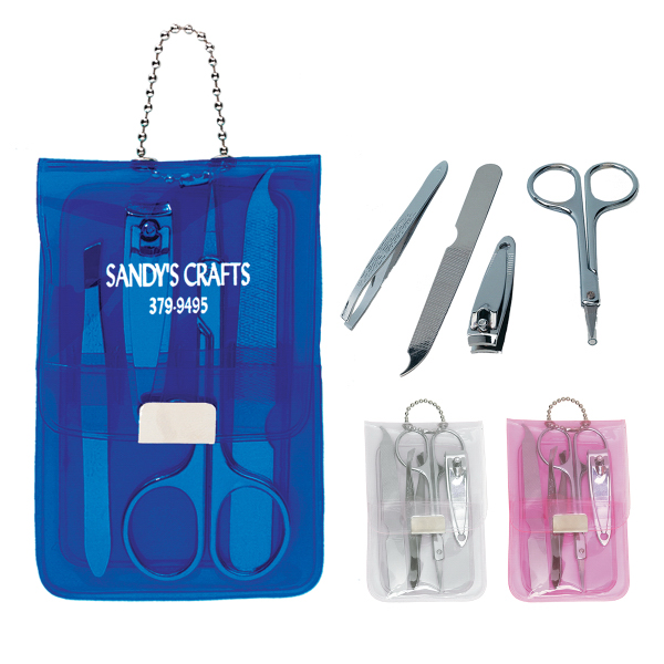 Promotional Vinyl Manicure Set