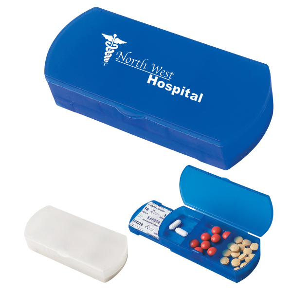 Personalized Pill Box/Bandage Dispenser