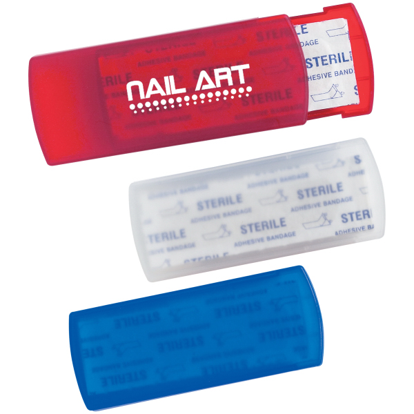 Promotional Bandages In Plastic Case