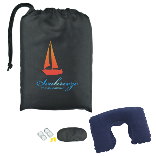 Imprinted Travel Comfort Kit