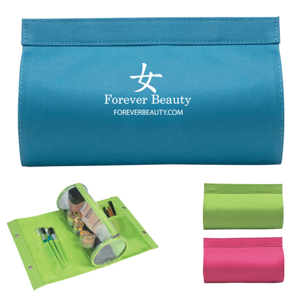 Personalized Cylinder Vanity Bag