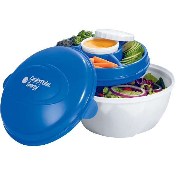 Imprinted Cool Gear (R) Deluxe Salad Kit