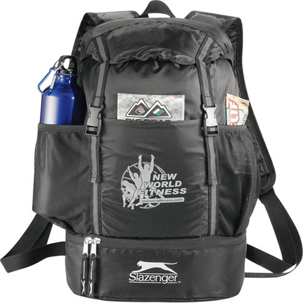 Customized Slazenger (TM) Drop-Bottom Drawstring Backpack