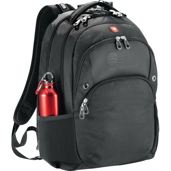 Customized Wenger (R) Scan Smart Compu-Backpack