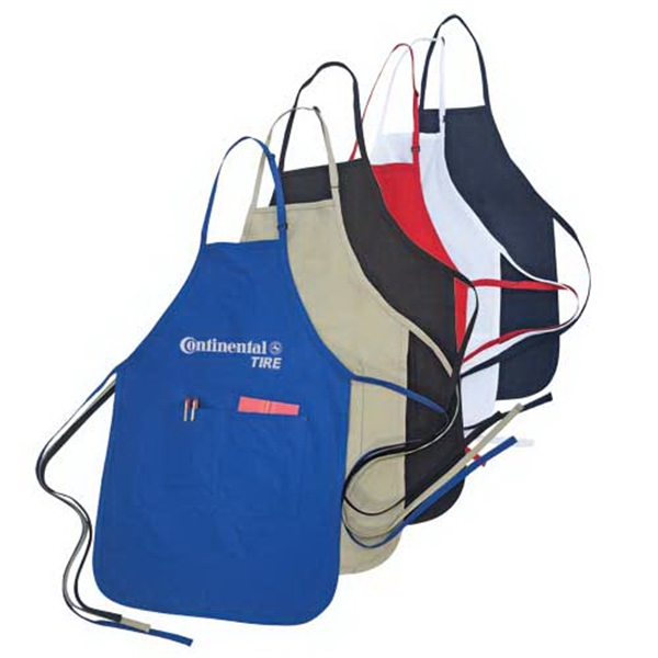 Personalized Adjustable poly-cotton apron