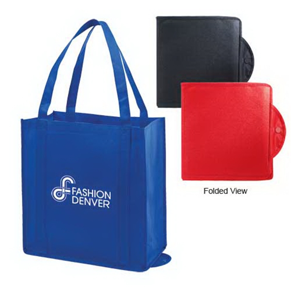 Printed Foldable non-woven tote bag