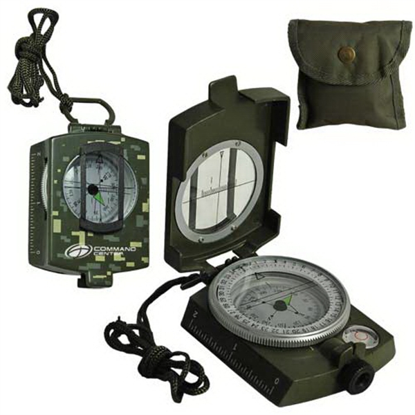 Custom Metal Prismatic Compass-Military Model