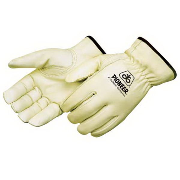 Personalized Standard Grain Cowhide Driver Gloves