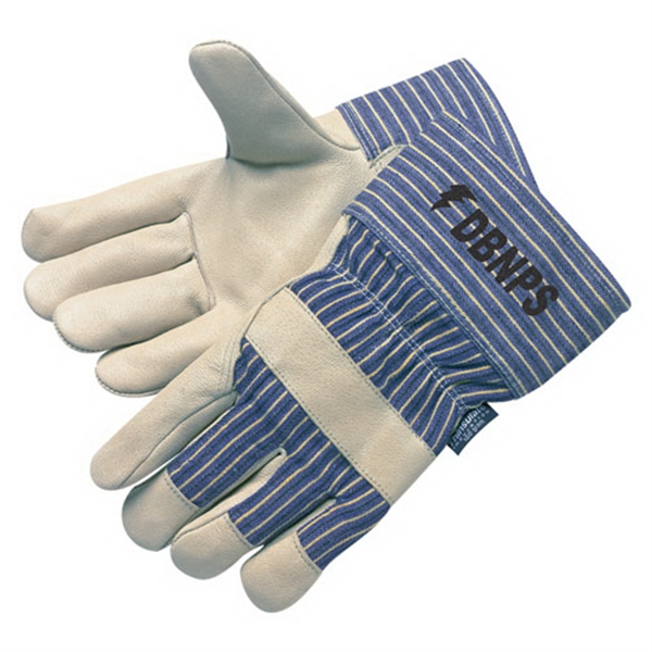 Imprinted 3M Thinsulate Lined Premium Grain Pigskin Work Gloves