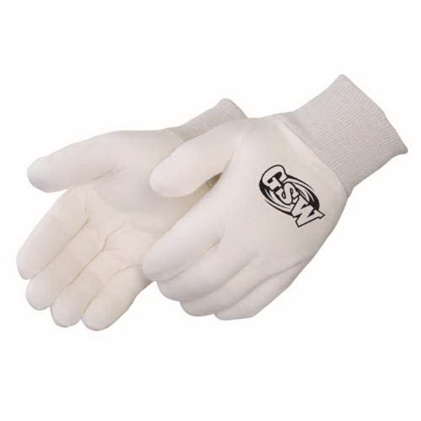 Promotional Heavy Weight Reversible Natural Jersey Gloves
