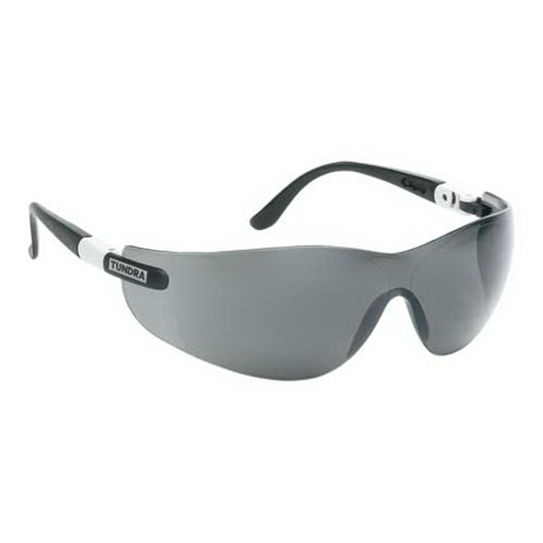 Promotional Wrap-Around Safety Glasses with Ratchet Temples