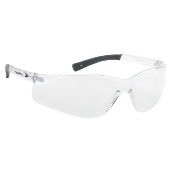Customized Lightweight Wrap-Around Safety Glasses