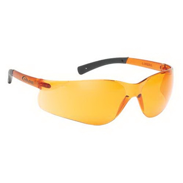 Printed Lightweight Wrap-Around Safety Glasses