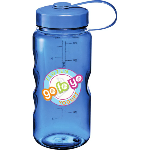 Printed Excursion BPA Free Sport Bottle 18 oz