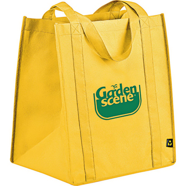 Printed PolyPro Non-Woven Big Grocery Tote
