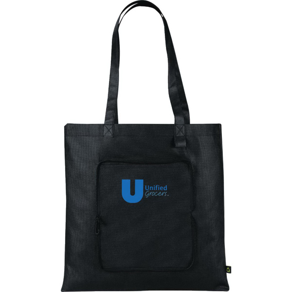 Promotional PolyPro Non-Woven Foldable Tote