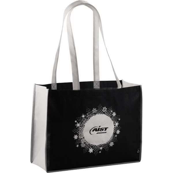 Personalized PolyPro Non-Woven Small Shopper Tote