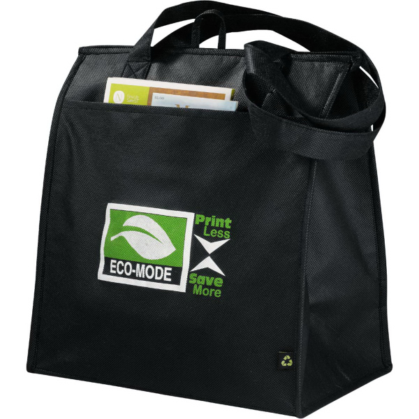 Promotional PolyPro Non-Woven Insulated Big Grocery Tote