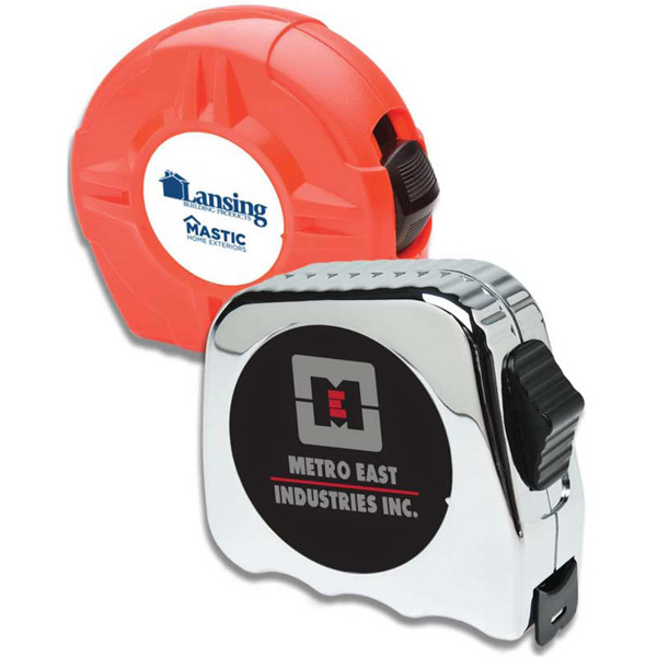 "Imprinted 1"" x 25' Power Tape Measure"