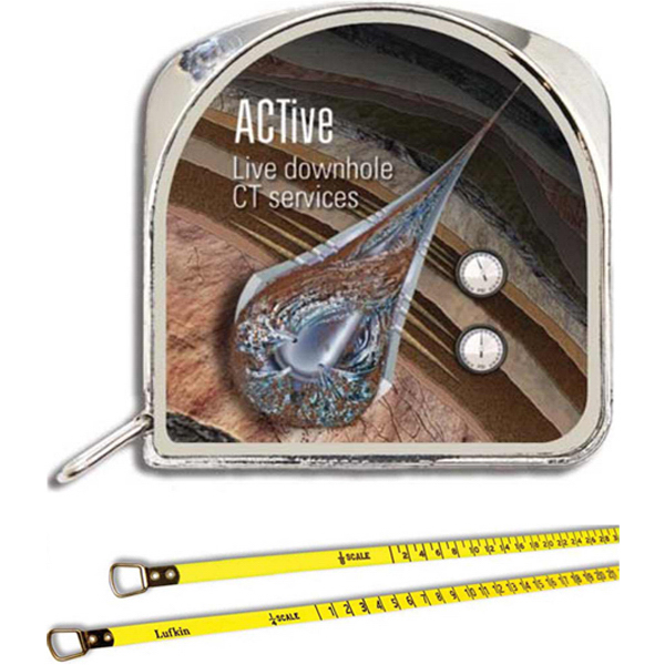 "Imprinted 1/4"" x 5' Architect Tape Measure"