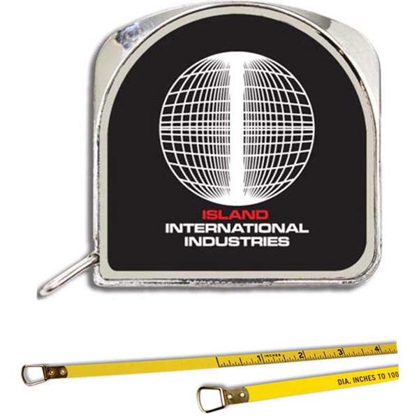 "Customized 1/4"" x 6' Diameter Tape Measure"