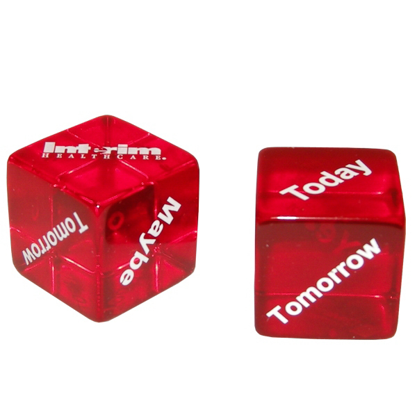 Printed Early American Decision Maker Dice