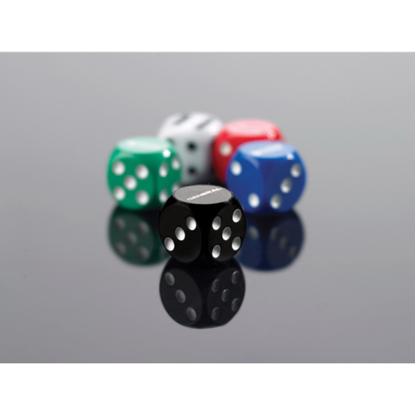 "Promotional 3/4"" Custom Imprinted Loaded Dice"