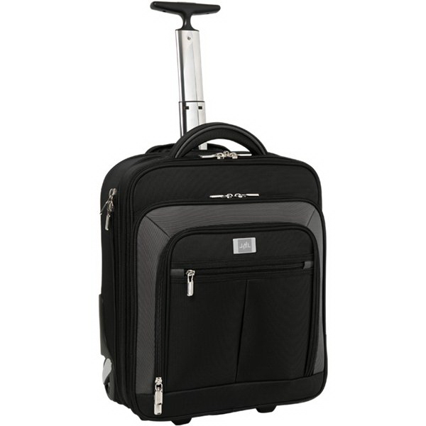 Imprinted Wheeled Ferraro Carry-on W/ Compu-Sleeve