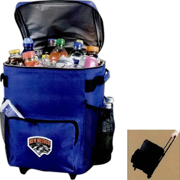 Personalized 48 Can Rolling Cooler Bag