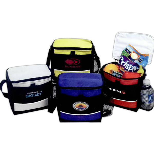 Imprinted 6 Can Malibu Cooler Bag