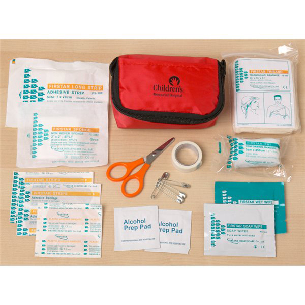 Printed 24 Piece First Aid Kit