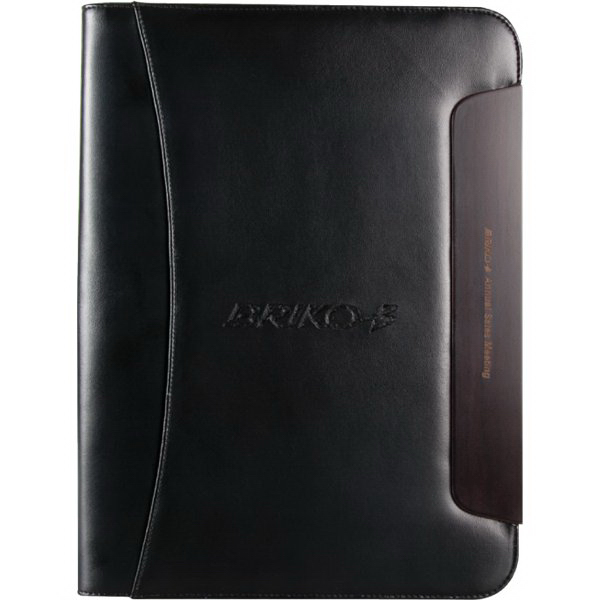 Printed BlackWood Zippered Padfolio