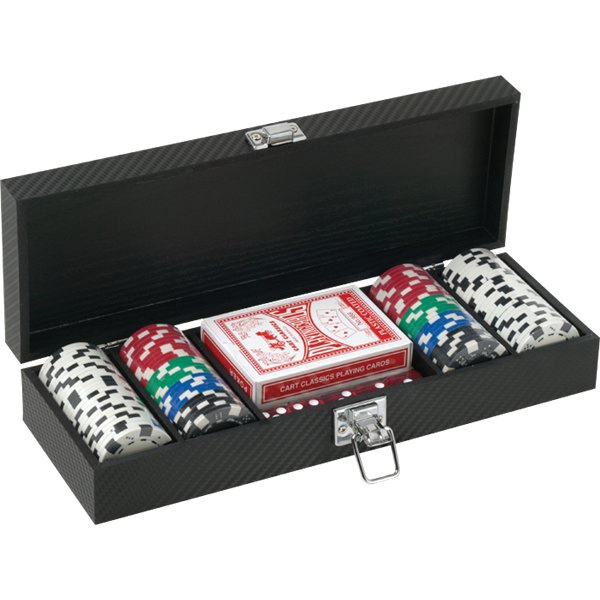 Printed 100 Piece Poker Set