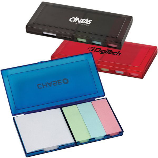 Imprinted Sticky Note Box