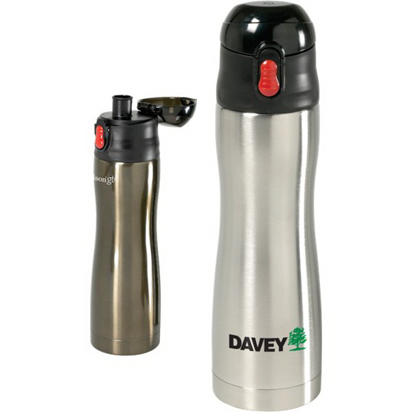 Customized 15 oz Profile Insulated S/S Vacuum Water Bottle
