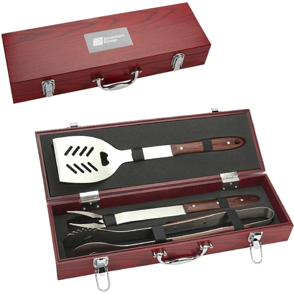 Custom 3 piece Executive Barbecue Set