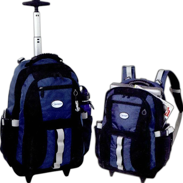 Promotional Passage Wheeled Backpack