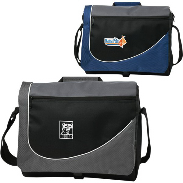 Personalized Swoosh Messenger Bag