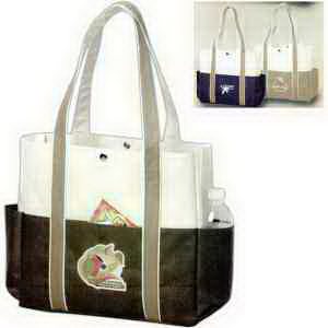Promotional Contrast Boat Tote