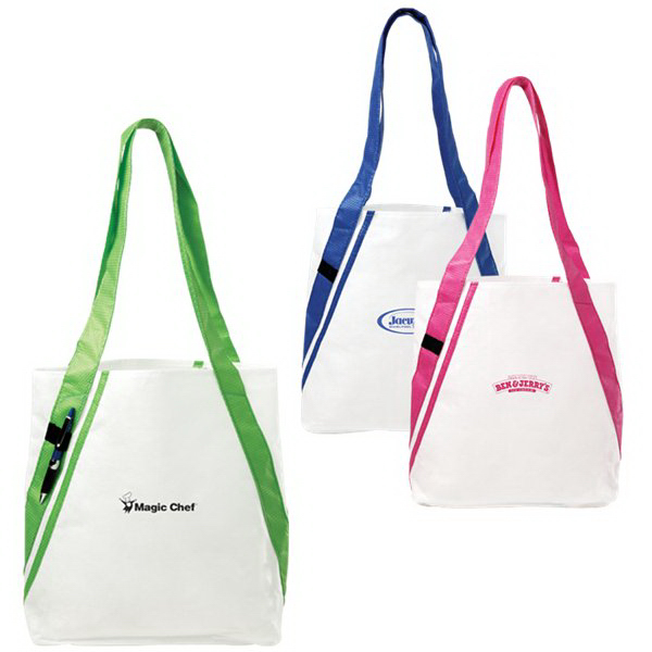 Promotional Dot Shoulder Tote