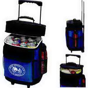 Customized 30 Can Roller Cooler