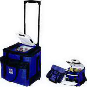 Promotional 48 Can Easy Access Roller Cooler